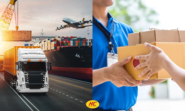 logistics company deliver services big or small